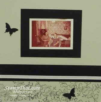 Stampin' Up! Vintage scrapbooking