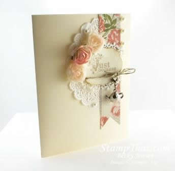 Handmade Tea Trinket Card