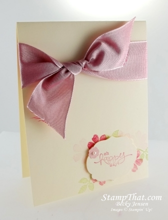 Stampin' Up! Bloomin Marvelous