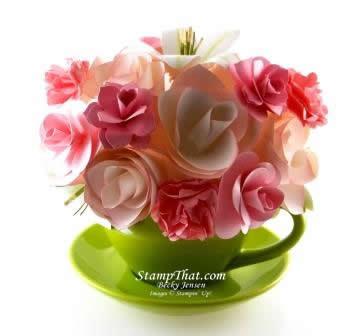 handmade flower bouquet