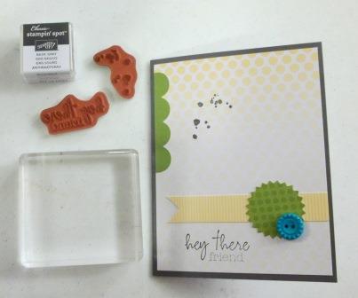 My paper pumpkin card kit