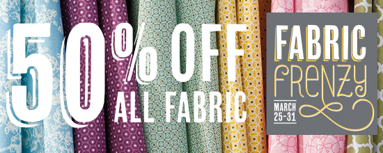 fabric frenzy sale