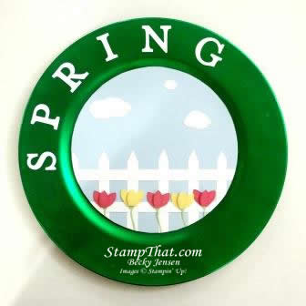 Seasonal Decor &#8211; Spring Charger Design