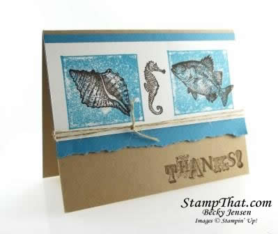 By the Tide May Stamp of the Month Class