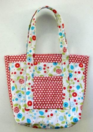 Stampin' up! Summer Smooches Fabric Bag
