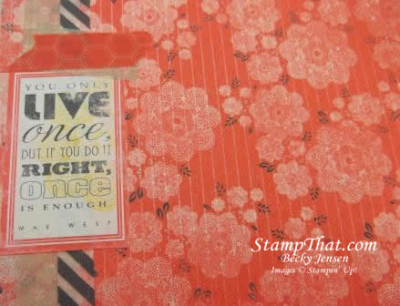 Stampin' Up! Smash Book