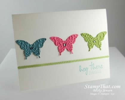 Elegant Butterfly Punch