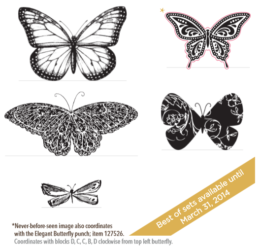 Stampin' Up! Best of 25 Butterflies