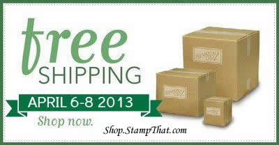 Stampin' Up! Free Shipping!