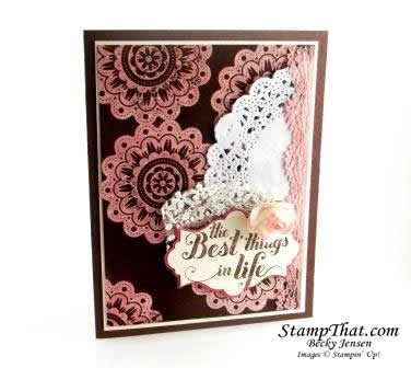 Stampin' Up! Feels Good