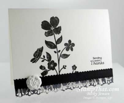Stampin' Up! Wildflower Meadow Card