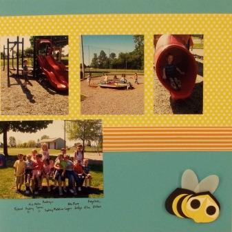 Punch art bee