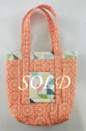 Calypso Coral Bag