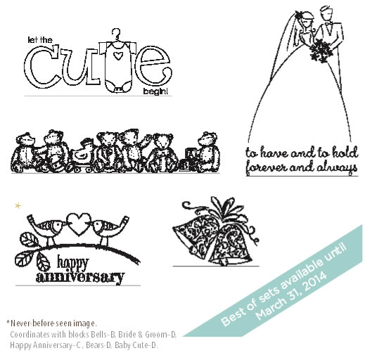 May Best of 25 Stamp Set