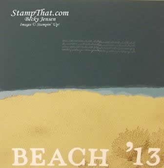 beach scrapbooking