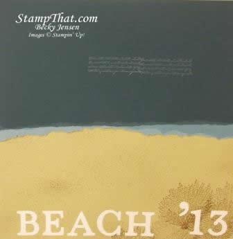beach scrapbooking