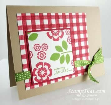 Betsy's Blossoms stamp set
