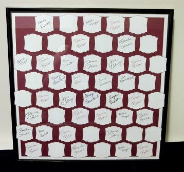 Stampin' Up! 50/50 Board