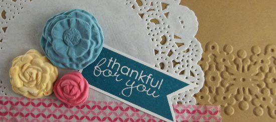 Stampin' Up! Simply Pressed Clay