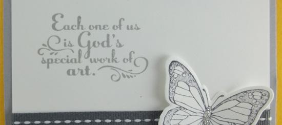 Trust God & Backyard Basics Stamp Sets