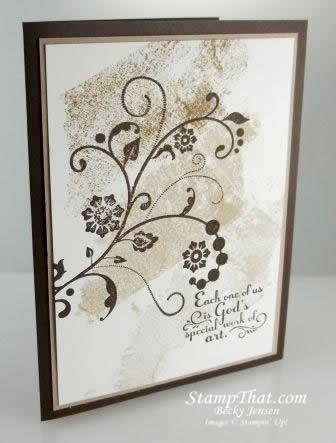 Flowering Flourishes & Trust God stamp sets