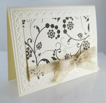Stampin' Up! Flowering Flourishes set