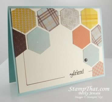 Stampin' Up! Hexagon