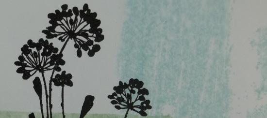 Simple Serene Silhouettes Handmade Card