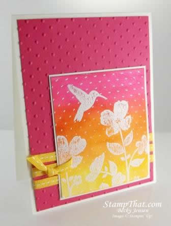 Stampin' Up! Wildflower Meadow stamp set