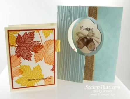 Fancy Folds Stampin' Up! Class