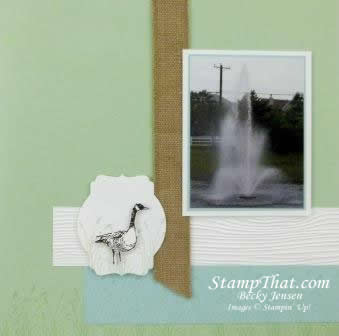 Stampin' up! Wetlands stamp set