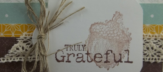 Truly Grateful Stamp of the Month Class