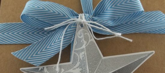 Christmas Star & Extra-Large Gift Box