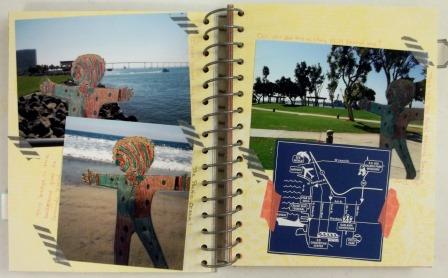 Scrapbooking journal