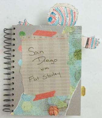 Flat Stanely trip scrapbook