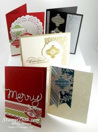 Christmas Collectibles Stampin' Up! stamp set