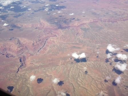 Flying in the west
