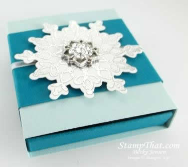 Festive Flurry Snowflake Box