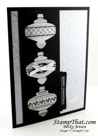 Stampin' Up! Christmas Collectibles card