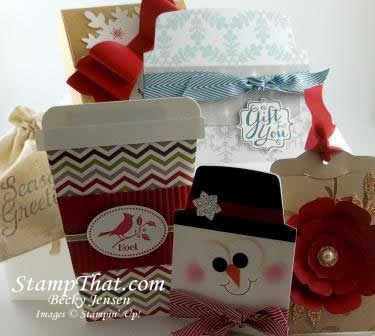 Gift Card packaging class