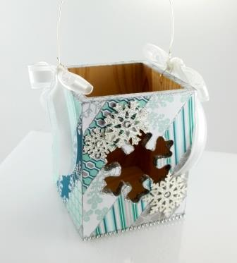 Stampin' Up! Decorated Box