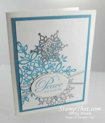 Stampin' Up! Festive Flurry Stamp Set