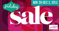 Holiday Sale for Stampin' Up!