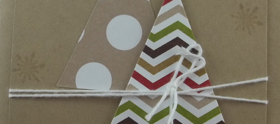 Season of Style Christmas Tree Card