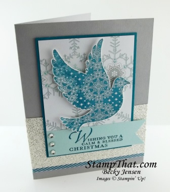 Calm Christmas stamp set