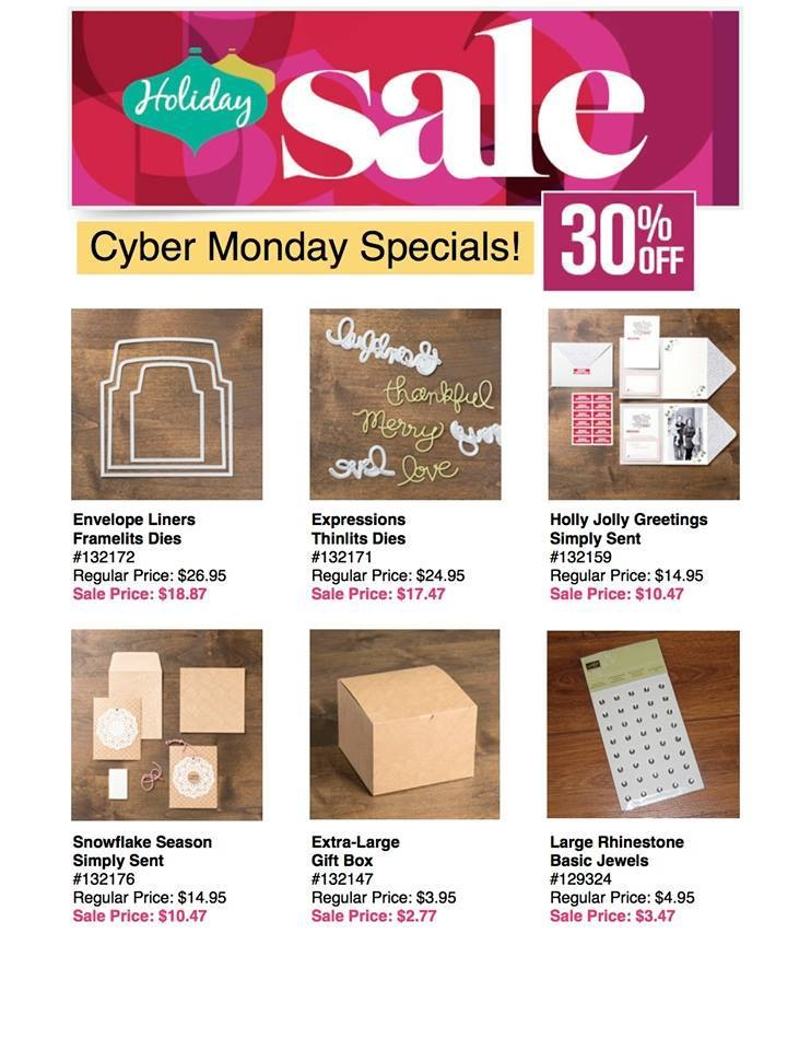 Stampin' Up! Cyber Monday Sale!