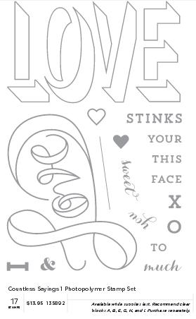 Countless Sayings Stamp Set