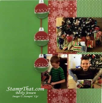 Scapbooking with Stampin' Up! Supplies