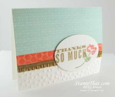 Stampin' Up! Oh Hello