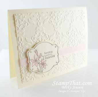Stampin' Up! Sale-A-Bration You're Lovely